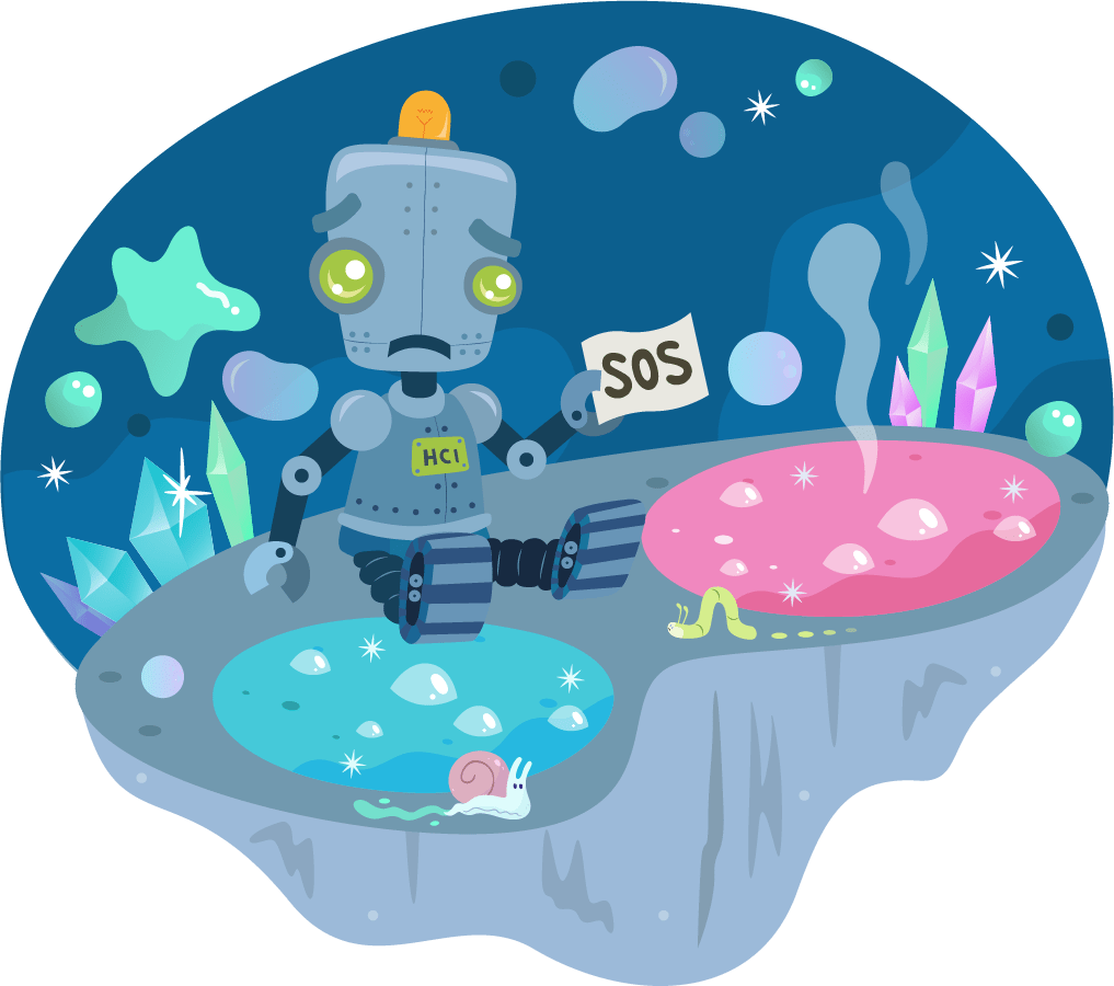 science story with robot